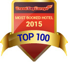 Top 100 most booked hotel on Travel Gay Europe – 2015