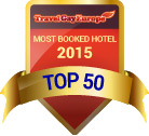 Top 50 most booked hotel on Travel Gay Europe – 2015