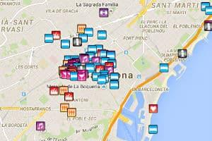 zona gay en barcelona españa