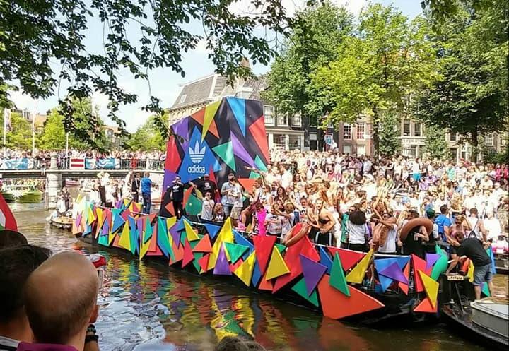 Europe Pride 2016 held in Amsterdam