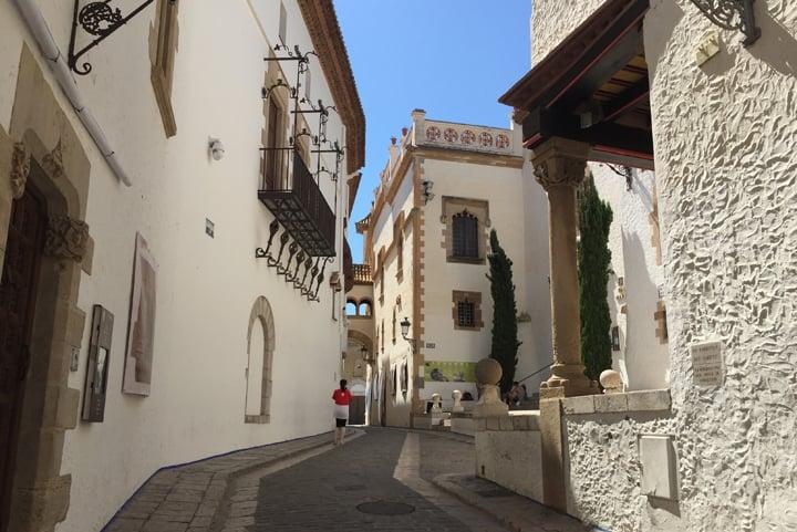 سيتجيس - المدينة القديمة