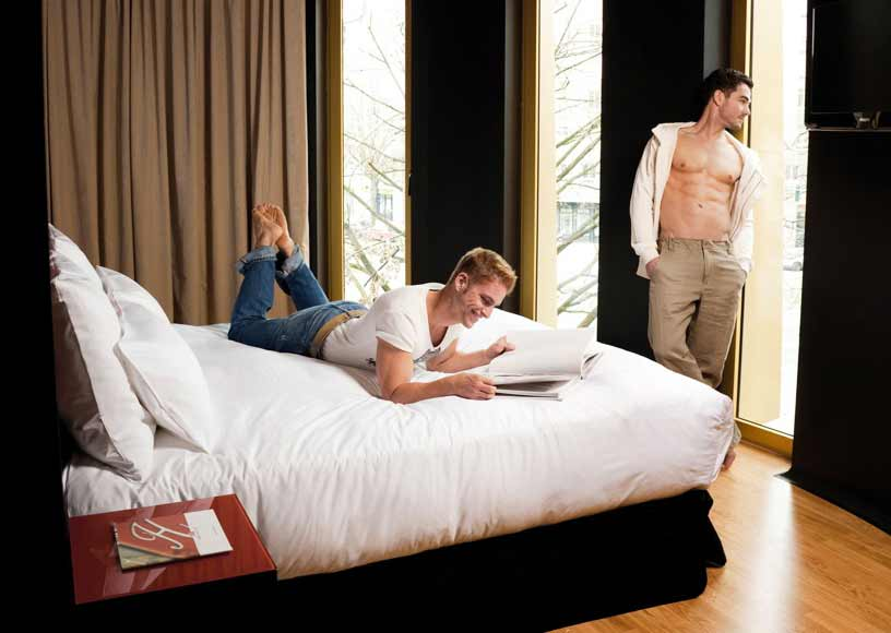Gay Berlin · Mittelklasse + Budget Hotels