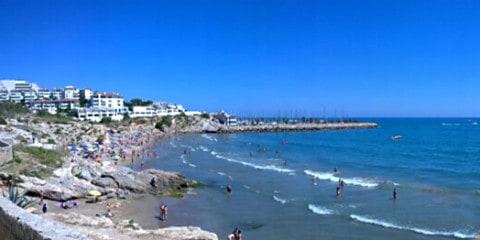 بلايا دي لاس بالمينز - شاطئ عراة مختلط