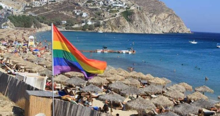 gay beaches Mykonos nude