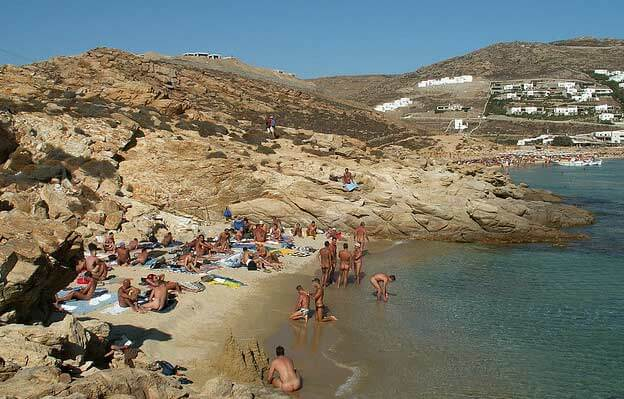 mykonos gay beach