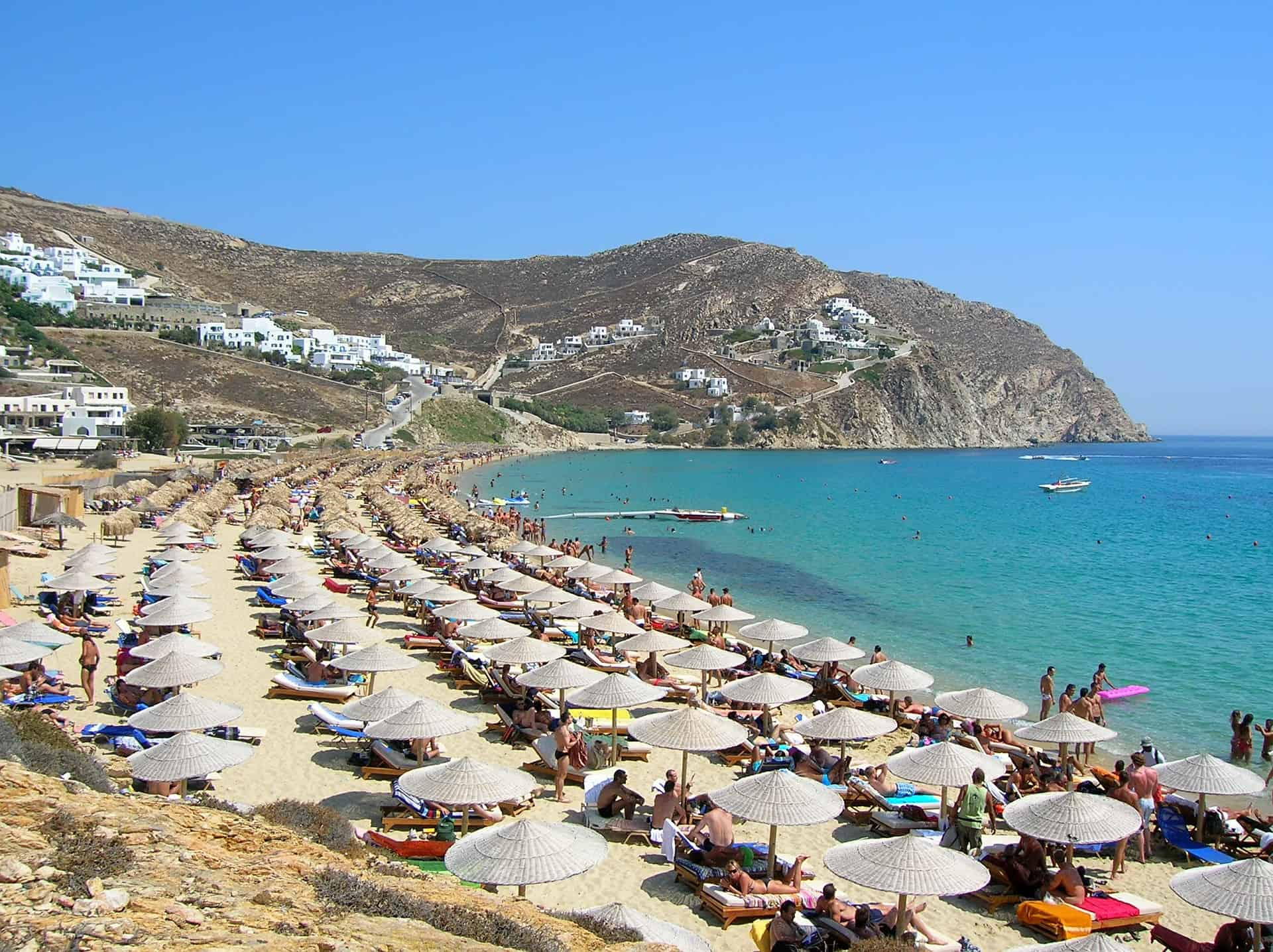 Praias gays de Mykonos