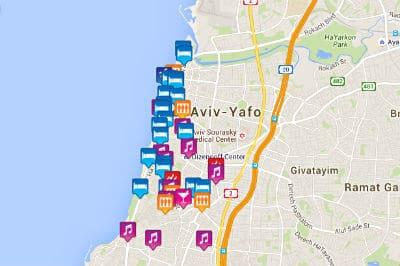 Tel Aviv Jerusalem Karte.Tel Aviv Gay Map 2019 Gay Bars Gay Clubs Gay Saunas Hotels