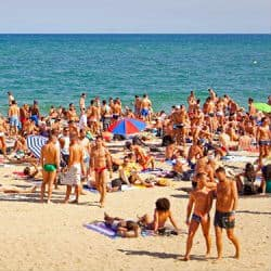 Mar Bella Beach Barcelona Gay Popular Nudist Beach In Barcelona
