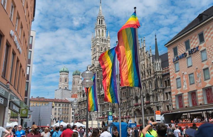 the Munich Gay Pride weekend(