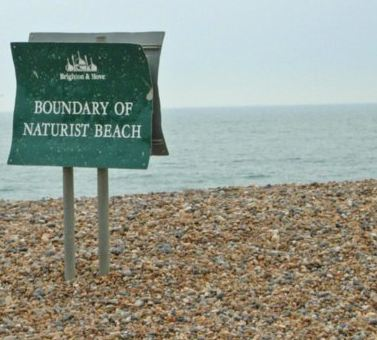Brighton Nudist Beach, Brighton - gay beach in Brighton UK