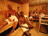 La salle des chaudières Sauna