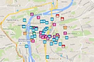 Prague Gay Map 2020 Gay Bars Gay Clubs Gay Saunas Hotels