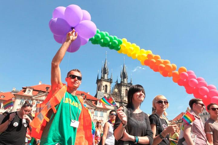 Homoseksuelle fester og begivenheder i Prag