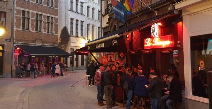 Bruxelles homoseksuelle barer
