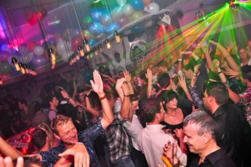 Gay disco clubs