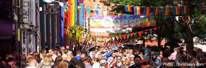 Homoseksuelle fester og begivenheder i Manchester
