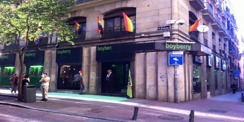 Boyberry Gay Cruise Club Madrid Outside