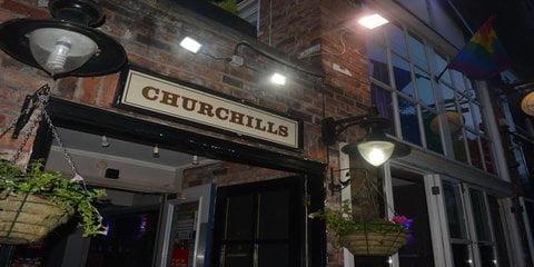 Churchills Gay Bar Manchester