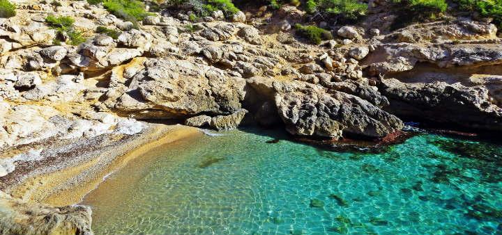 Raco del Conill – nudist beach