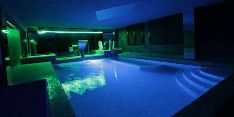 Sauna blu
