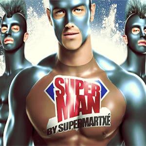 SuperMan by SuperMartxé