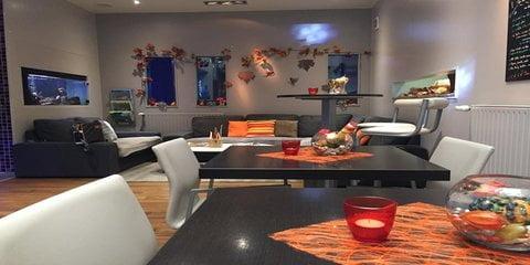Le Pied Marin Schwule Sauna Dunkerque Lounge-Bereich