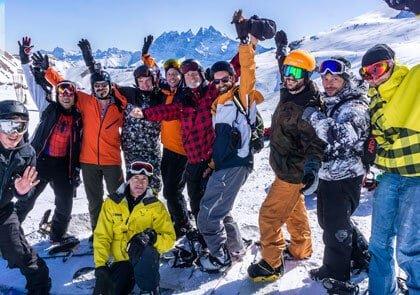 European Gay Ski Weeks in 2016