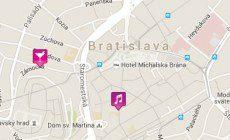 Χάρτης της Μπρατισλάβα