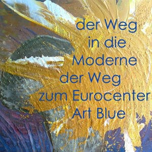 Euro Blue Center Art