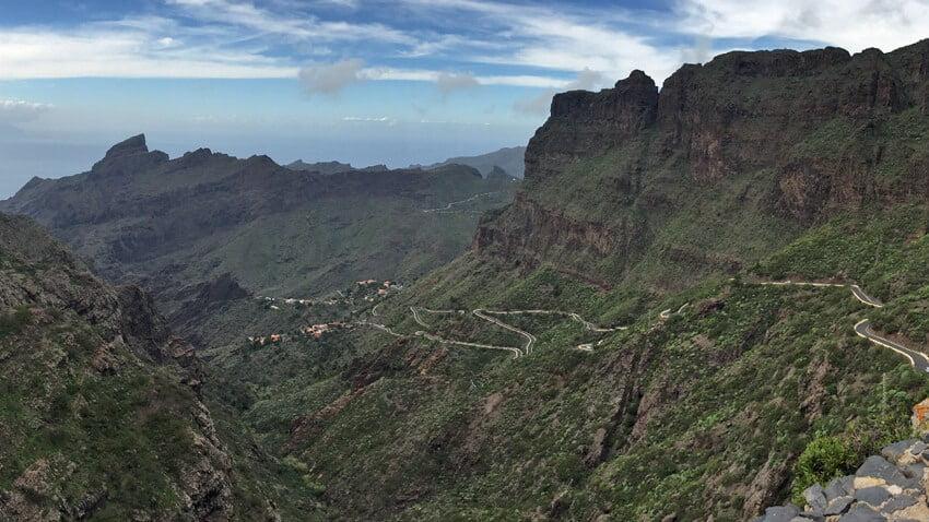 Route vers Mesca-Tenerife