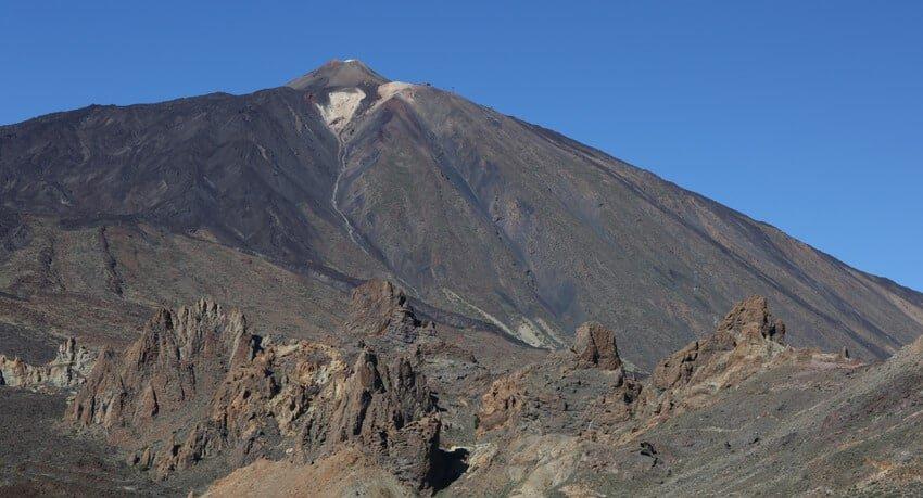 vue de El Teide-Tenerife