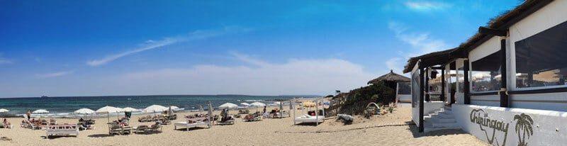 Ibiza Gay beach scene