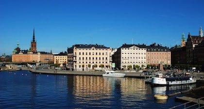 Centre-ville de Stockholm