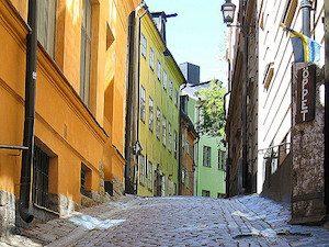 Vieille ville de Stockholm