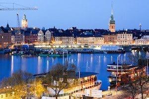 Front de mer de Stockholm