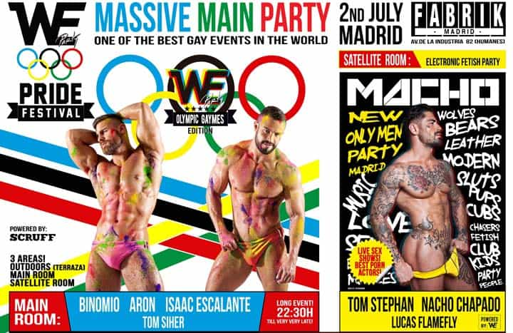 special feature about WE PARTY Festival Madrid