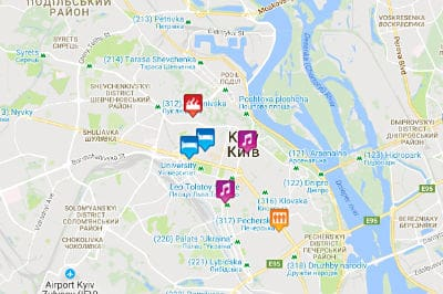 Kiev Map 2019 - bars, clubs, saunas, hotels & more ... Kiev Map on brussels map, islamabad map, astana map, dnieper river, black sea map, chisinau map, constantinople map, minsk on map, russia map, volgograd map, crimea map, warsaw map, timbuktu map, ukraine map, caucasus mountains map, kyiv map, st. petersburg map, leningrad map, saint petersburg, moscow map, kievan rus map, jerusalem map,