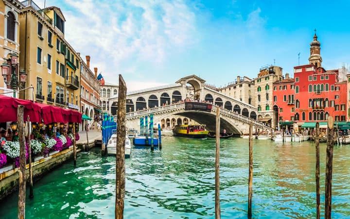 Grand Canal Bridge Venice