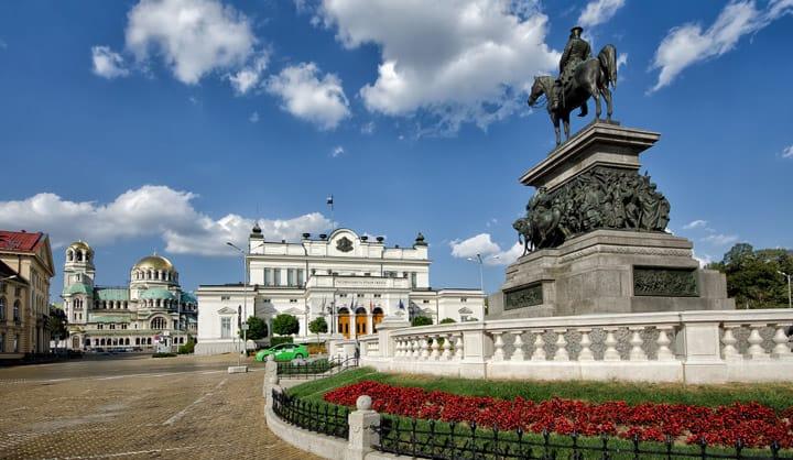 Centro de la ciudad de Sofía