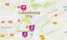 Luxembourg gay map