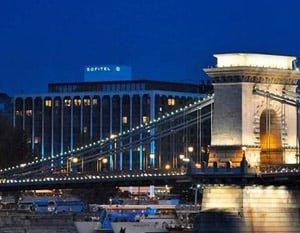 Chain Bridge Sofitel Budapest