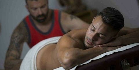By chicago gay in man man massage