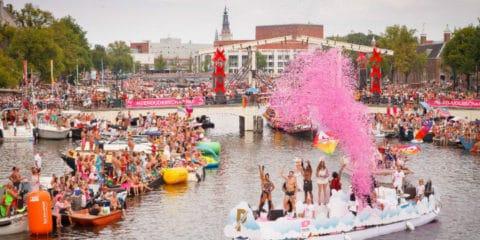 Homoseksuelle fester og begivenheder i Amsterdam