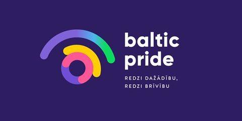 Baltische Gay Pride Riga 2018 banner