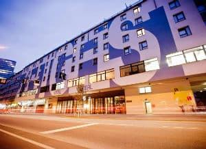 维也纳中央火车站时代精神酒店