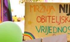 Défilé de la fierté gay de Zagreb 2018