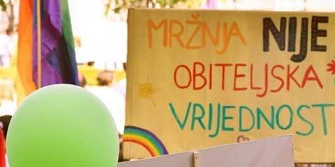 Zagreb Gay Pride Parade 2018