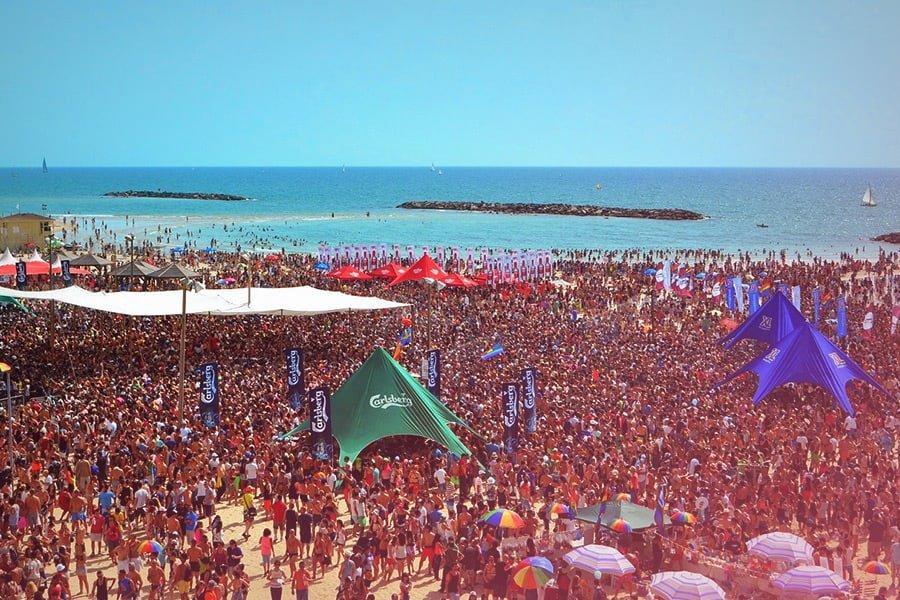 Spiaggia Gay di Tel Aviv