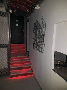 Garage du club