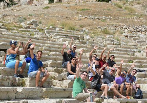 حفلات وأحداث المثليين في أثينا